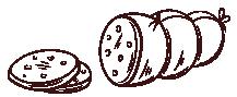 Jambons et lardons